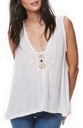 Free People Women's New Vibes Tank Ivory