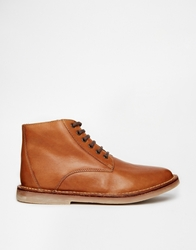 Frank Wright Wall Short Boots Brown