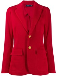 Polo Ralph Lauren Jersey Blazer Red