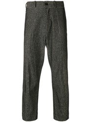Damir Doma Cropped Trousers Black