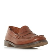Bertie Picworth Penny Saddle Loafers Brown