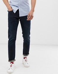 Selected Homme Straight Leg Scott Jeans Blue
