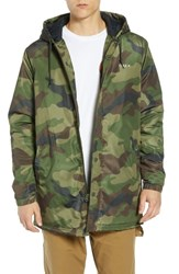 Obey Singford Insulated Parka Field Camo