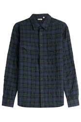 Burberry Brit Checked Cotton Shirt Multicolor