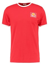 Ellesse Montefello Print Tshirt True Red