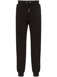 Versace Medusa Motif Patch Track Pants Black