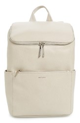 Matt And Nat 'Brave' Faux Leather Backpack Beige Koala