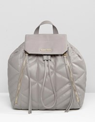 Calvin Klein Ck Jeans Quilted Backpack Pavement Grey