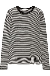 Kain Label Striped Jersey Top Black