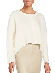 Nicholas Brushed Wool Sweater Ivory