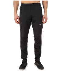Nike Dri Fit Thermal Pants Black Anthracite Reflective Silver Men's Workout