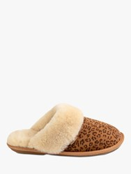 Just Sheepskin Duchess Slippers Leopard