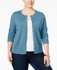 Charter Club Plus Size Long Sleeve Cardigan Only At Macy's Cc Aviary