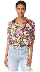 Free People Under The Palms Shirt Ivory