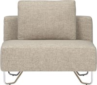 Cb2 Lotus Natural Armless Chair