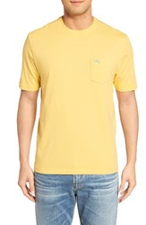 Tommy Bahama Men's Big And Tall 'New Bali Sky' Pima Cotton Pocket T Shirt Golden Gate