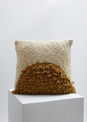 Minna Moon Shag Pillow Gold