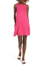 Socialite Women's High Neck Dress Pink