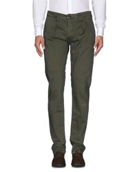 Liu Jo Man Casual Pants Military Green