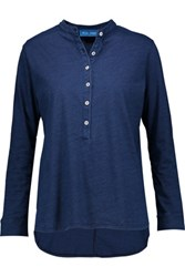 Mih Jeans M.I.H Chekkie Cotton Top Storm Blue