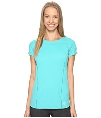 Arc'teryx Taema Crew Short Sleeve Castaway Women's Clothing Green