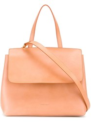 Mansur Gavriel Mini Lady Bag Neutrals