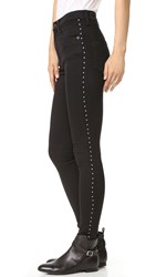 Rag And Bone Dive Jeans Studded Black