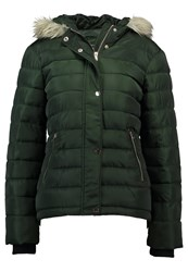 Dorothy Perkins Fur Light Jacket Khaki Green