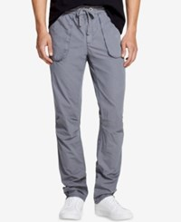 Dkny Classic Fit Drawstring Pants Turbulence Grey