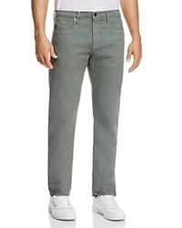Frame Twill Slim Fit Pants In Agave 100 Exclusive