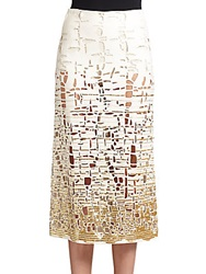 Donna Karan Sequined Cutout Skirt