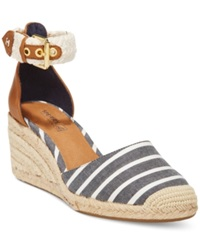 Sperry Top Sider Women's Valencia Espadrille Wedges Women's Shoes Navy