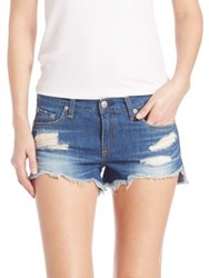 Rag And Bone Cut Off Distressed Denim Shorts Freeport