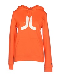 Wesc Sweatshirts Orange