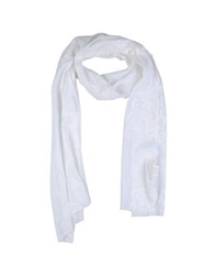 U Ni Ty Oblong Scarves White