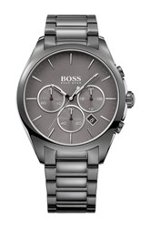 Hugo Boss Men's Onyx Chronograph Bracelet Watch Gray
