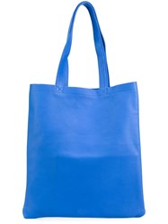 Isaac Reina Classic Shopping Tote Blue