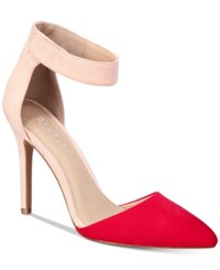 Charles By Charles David Pointer Two Piece Pumps Women's Shoes Fire Blush