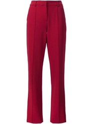 Adam By Adam Lippes Tuxedo Pants Red
