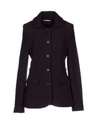 Gold Case Suits And Jackets Blazers Women Dark Brown
