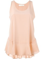 Chloe Chloe Sleeveless Top Pink And Purple