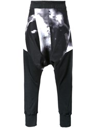 Nil0s 'Cloud' Print Trousers Black