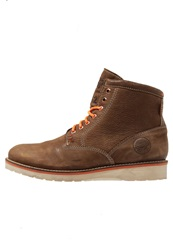 Superdry Stirling Laceup Boots Tan Brown