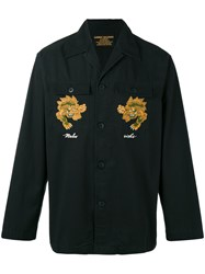 Mhi Maharishi Embroidered Jacket Black