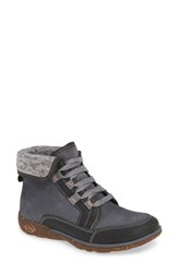 Chaco Barbary Waterproof Bootie Castle Rock Leather