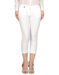 Met And Friends Trousers 3 4 Length Trousers Women White