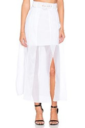 Alice Mccall Satisfy My Soul Skirt White