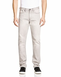 Blank Slim Fit Jeans In Silver