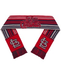 Forever Collectibles St. Louis Cardinals Glitter Stripe Scarf Red