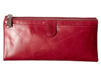 Hobo Taylor Red Plum Wallet Handbags